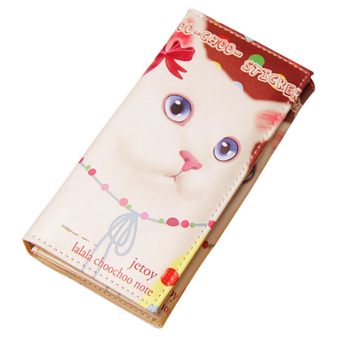 Amazon.com : TOOGOO(R) Female Wallets Female Purse Cartoon Pussy Cat Women  Printed Wallets£¨Cat6£ : Sports & Outdoors