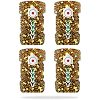 Skin For DJI Inspire 1 Drone Battery (4 pack) – Gold Dazzle | MightySkins Protective, Durable, and Unique Vinyl Decal wrap cover | Easy To Apply, Remove, and Change Styles | Made in the USA