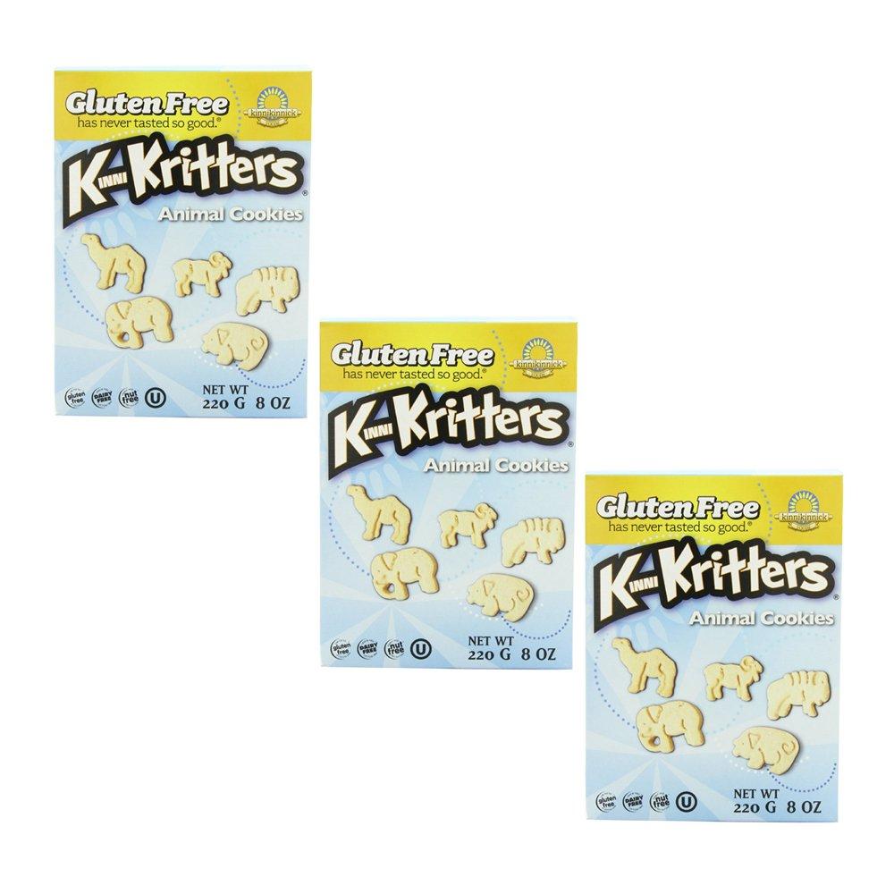 Kinnikinnick Animal Cookies Original 3 Pack