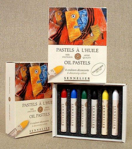 Sennelier : Oil Pastel : Set of 6