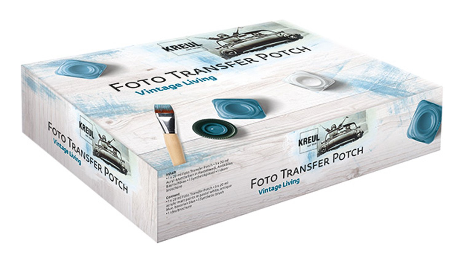 Foto Transfer Potch Vintage Living Kreul 49990 in Kartonbox
