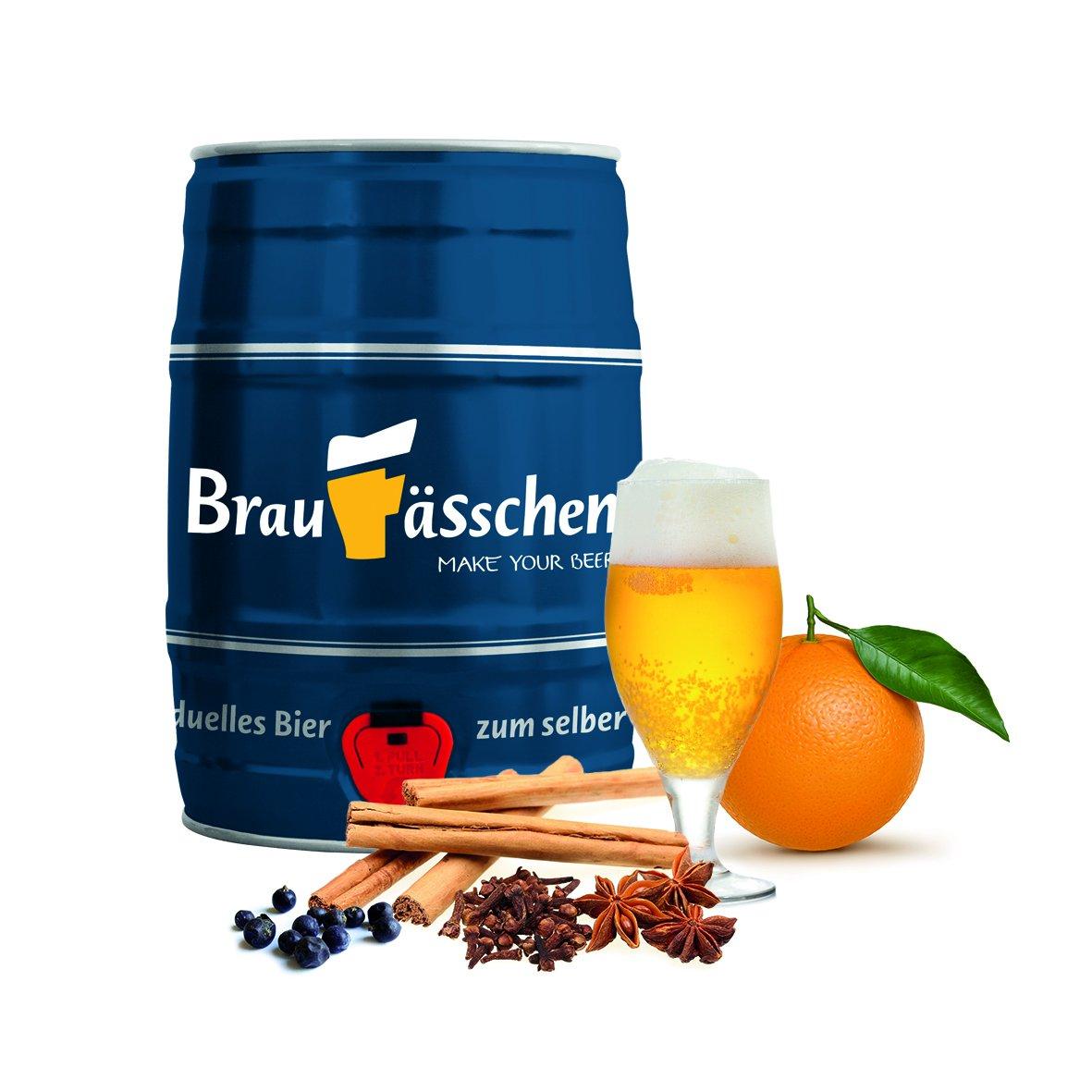 Weihnachtsbier - Braufässchen Bierbrauset - in nur 7 Tagen Bier brauen Customized Drinks GmbH