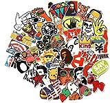Cool Sticker 100pcs Random Music Film Vinyl