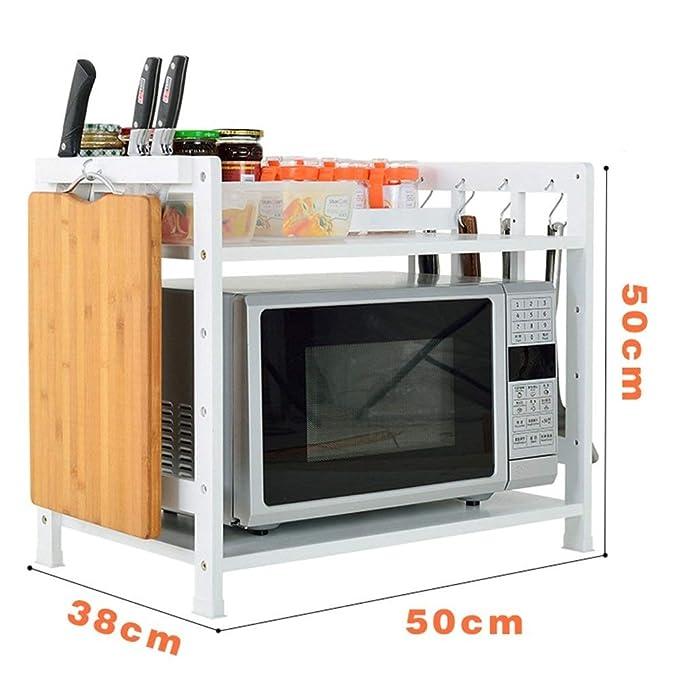 LYHOME Estante de la Cocina Horno de microondas Rejilla 2 - Rack ...