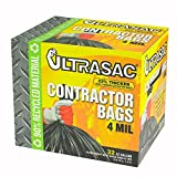 Aluf Plastics Ultrasac 42 Gal. Contractor Bag (32 Count) - 5 Pack