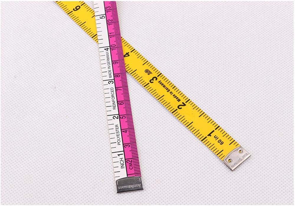sourcing map Cinta m/étrica de 80 pulgadas de doble cara suave para Sastre Costura 2uds blanco de 2 metros
