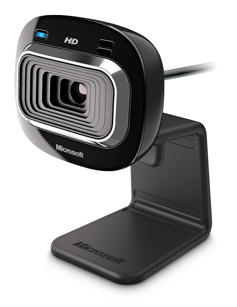 Microsoft Lifecam HD-3000 Webcam, Black - T3H-00016 Microsoft - Hardware Cameras & Video Devices