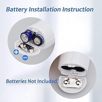 Baugger Term/ómetro infrarrojo sin contacto de alta precisi/ón Term/ómetro de mano para mano Term/ómetro electr/ónico port/átil