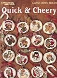 img - for Quick & Cheery Cross Stitch Ornaments (Leisure Arts Leaflet 2360) book / textbook / text book