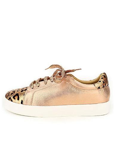 95243a9d1739b Cendriyon, Baskets Color Champagne BESTELLE Léopard Chaussures Femme Taille  41