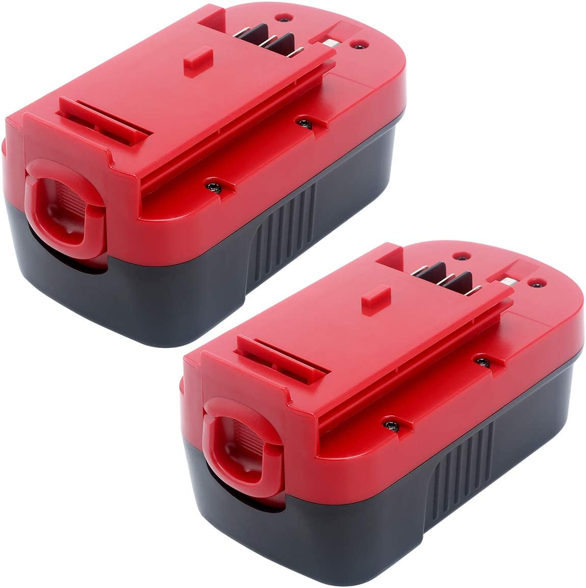 Elefly 2 Pack 18V 3.8Ah HPB18 Battery for Black and Decker 18V Battery HPB18 HPB18-OPE 244760-00 FS18FL FSB18, Black and Decker 18 Volt Cordless Power Tools Battery