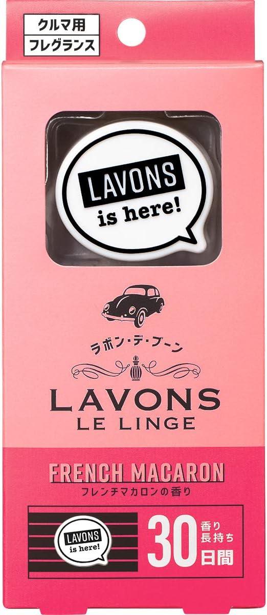 ラボン・デ・ブーン 車用 消臭芳香剤 フレンチマカロン