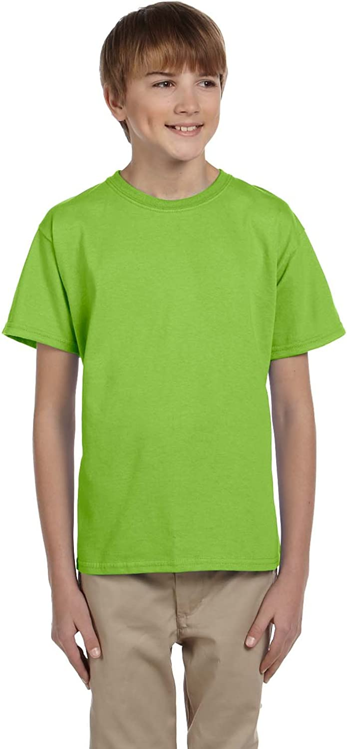 Hanes Youth Short Sleeve ComfortBlend T-Shirt: Clothing