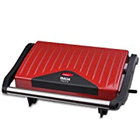 Inalsa Sandwich Grill Toaster Toast & Co 750 Watt (Red / Black)