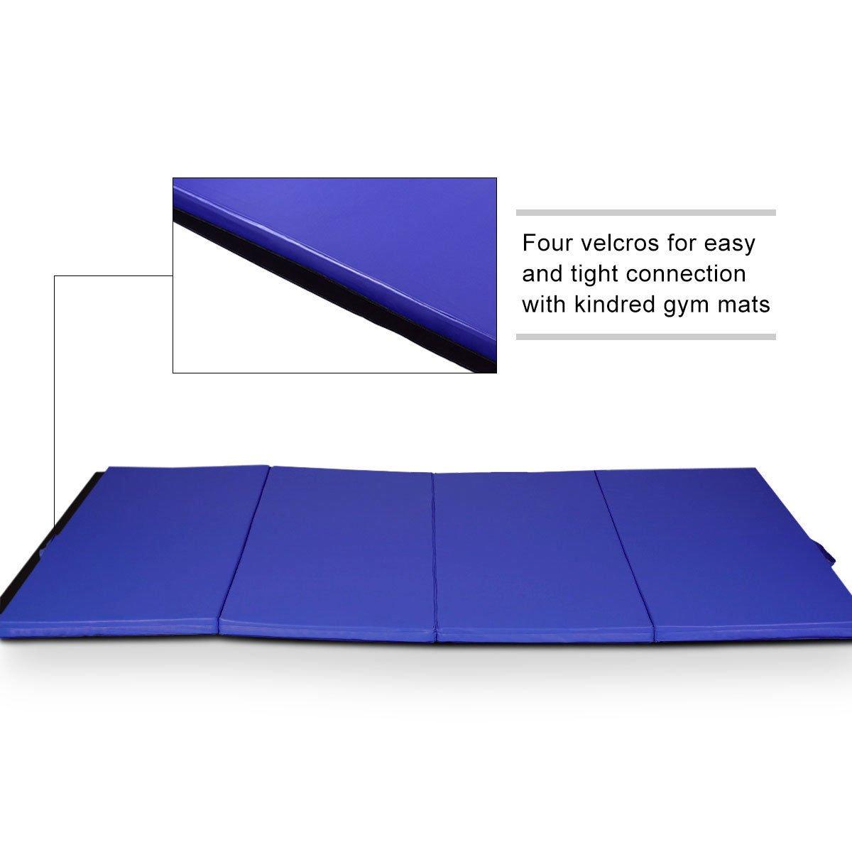 Amazon.com: Alfombrilla de gimnasio para ejercicios, color ...