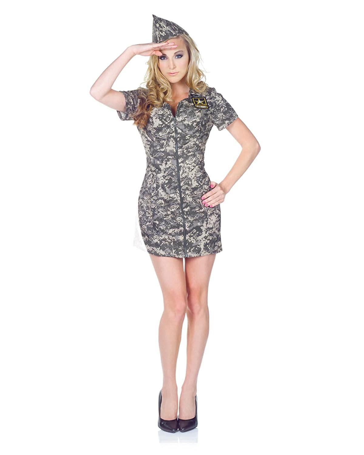 sc 1 st  Amazon.com & Amazon.com: Underwraps Womenu0027s U.S. Army Camo Dress: Clothing