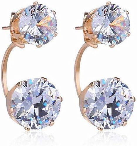 Fashion Women Lady Crystal Rhinestone Wing Ear Stud Earrings Party Jewelry Gift