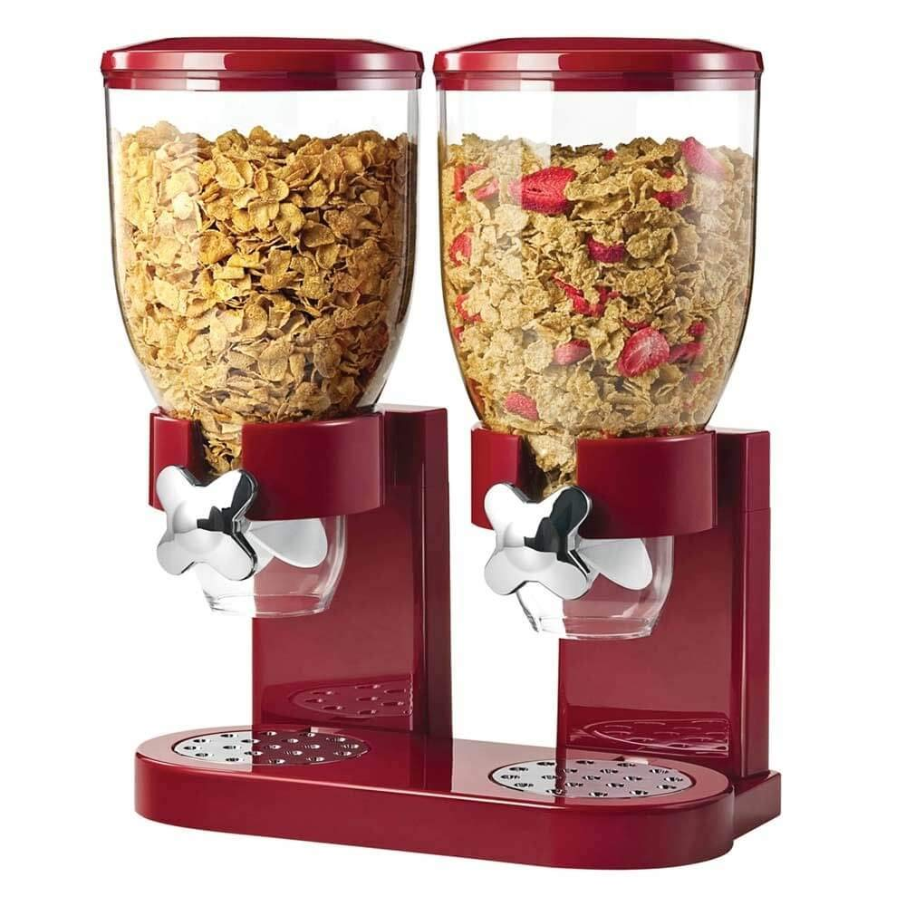 Unknown Cornflakes Dispenser zwart 2 x 500 gram