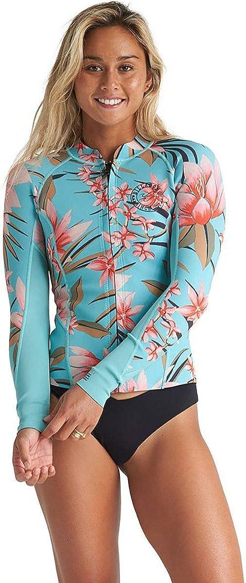 Billabong Womens 2Mm Eco Peeky Wetsuit Jacket