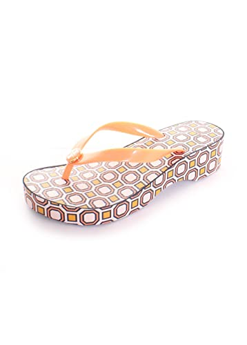22ec8466a Tory Burch Cut-Out Carved Wedge Flip Flops