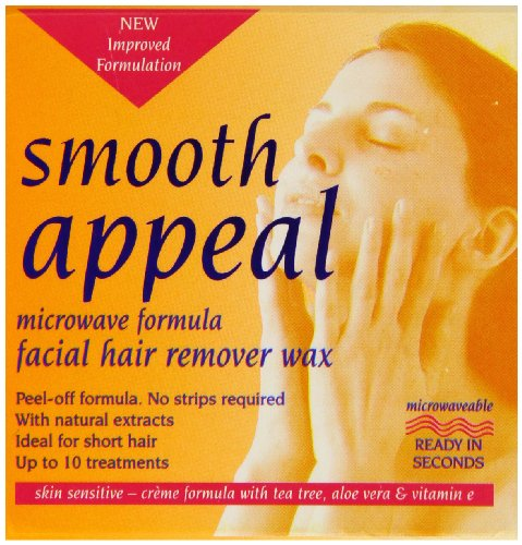 Smooth Appeal 40 g Microwave Formula Facial Hair Remover Wax