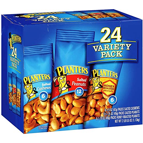 Planters Nut Variety Pack. 24 ct.