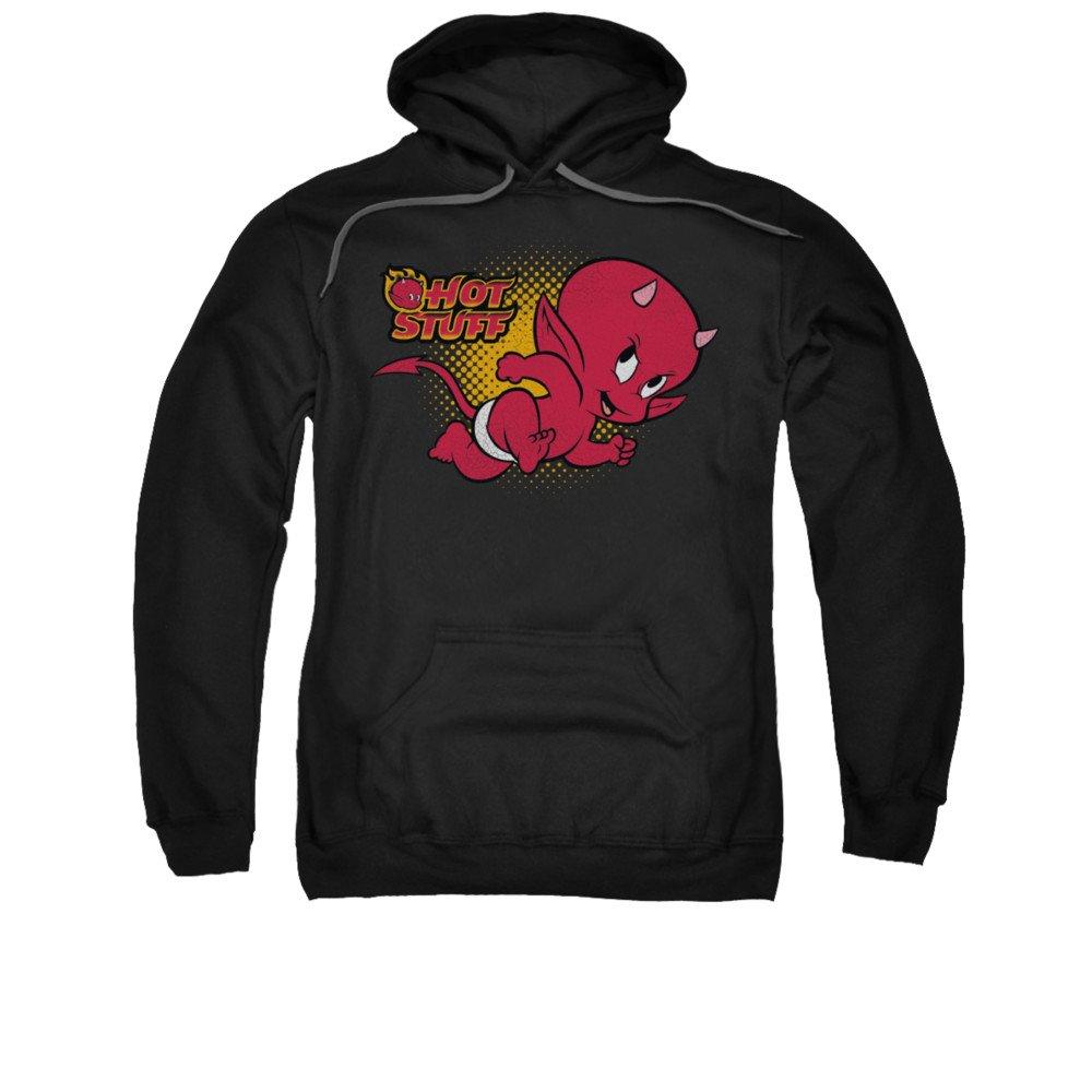 2Bhip Hot stuff der teufel comicfigur läuft hoodie für Herren