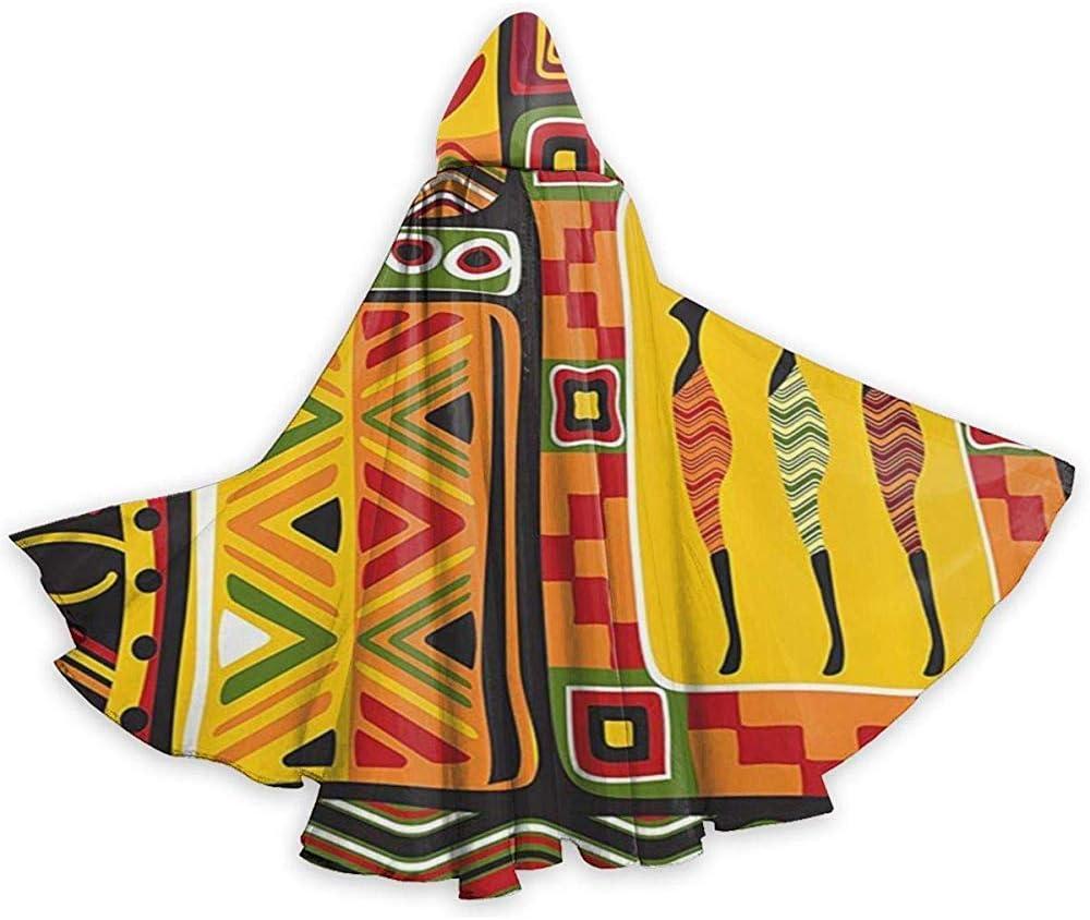 Rexing Capa del Cabo para Adultos Elementos africanos Histórico ...