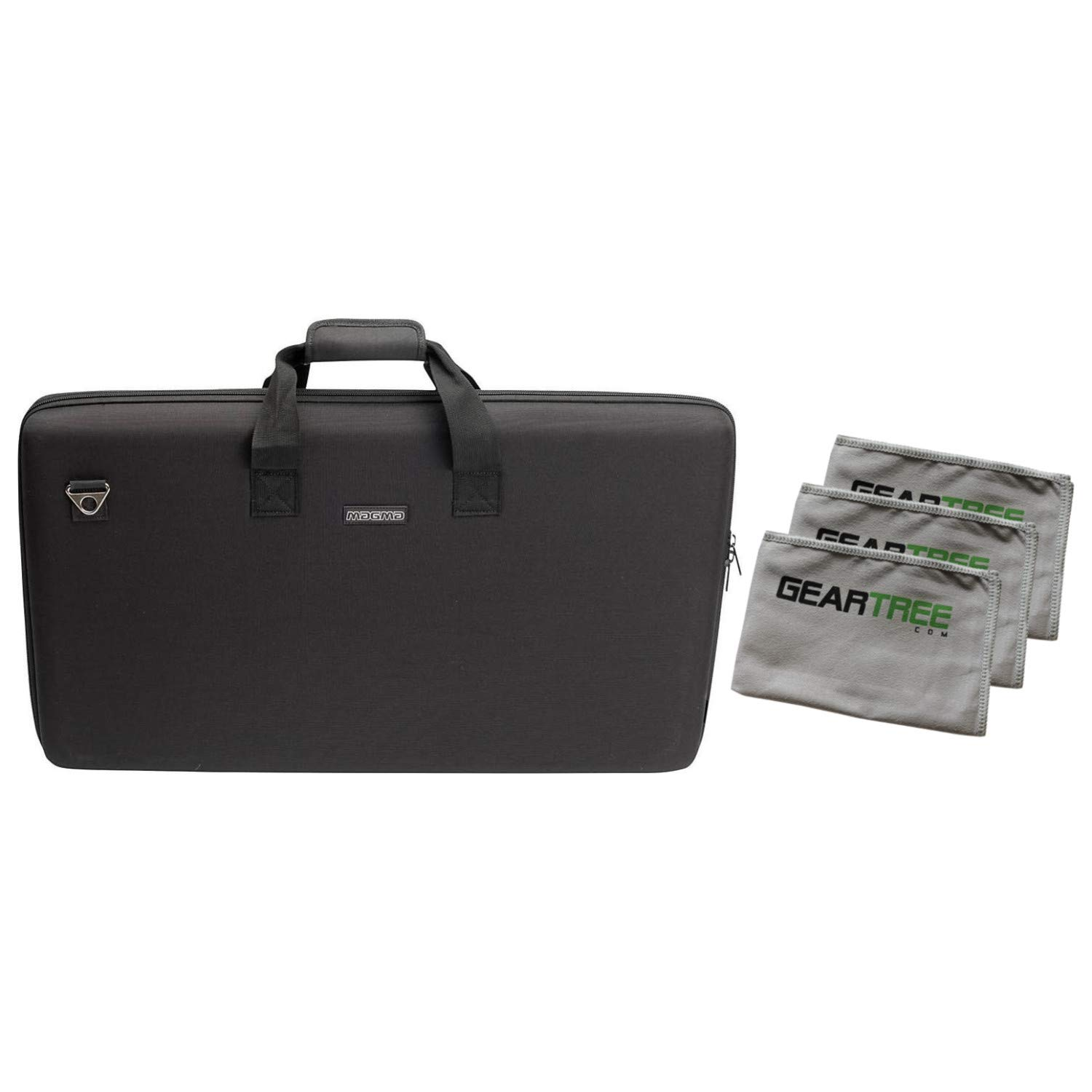Magma CTRL DDJ-SX2/RX DJ Equipment Case Bundle w/Cloth 3-Pack