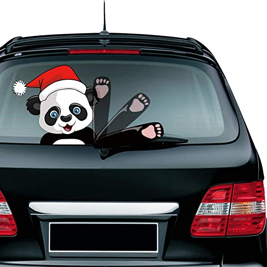 Autocollant de vitre arrière d/'essuie-glace de voiture Décorations de voiture