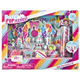 Party Popteenies Party Time Surprise Set with Confetti, Collectible Dolls and Accessories, for Ages 4 and up