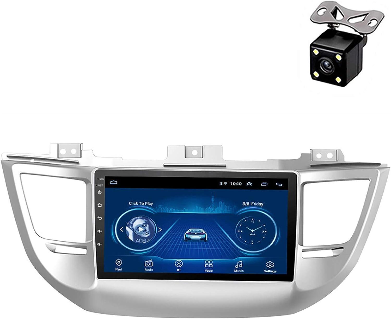PLOKM Android 8.1 estéreo Navegación GPS para Coche para Hyundai Tucson 2015-2018 con 9 Pulgadas Pantalla táctil 2.5D,Reproductor de DVD, WiFi, Bluetooth, Receptor Am/FM#2