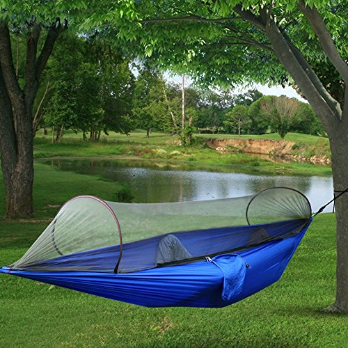 Galleon Outdoor Camp Camping Hammock With Mosquito Insect Net