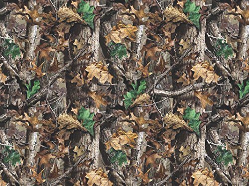 REALTREE FLANNEL FABRIC SOLD BY THE YARD-REAL TREE COTTON FLANNEL FABRIC-REALTREE CAMOUFLAGE ()