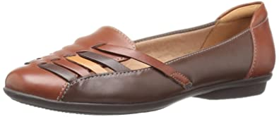 Clarks Women Flats Gracelin Gemma Brown Multi Leather Go anywhere easy going style comes easily with the Gracelin Gemma flat GYBSXWP