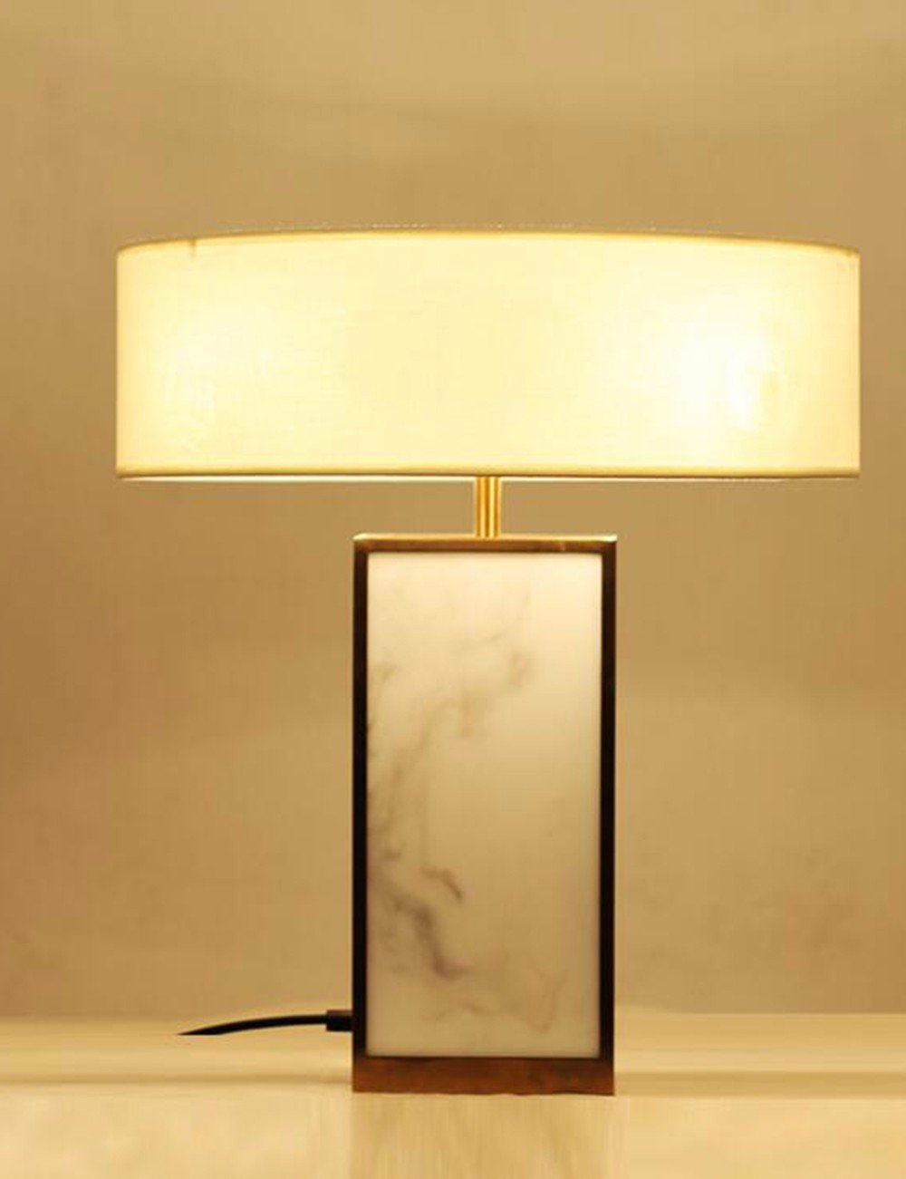 CJSHV-moderni minimalista marmo lampade, camera studio scrivania, hotel decorativi lampada, arte lampada.