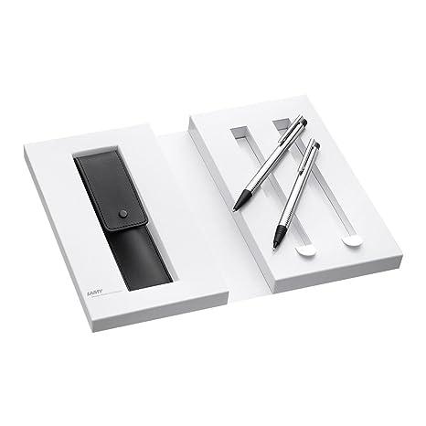 Lamy 1230492 Set de bolígrafo y portaminas con funda de piel ...