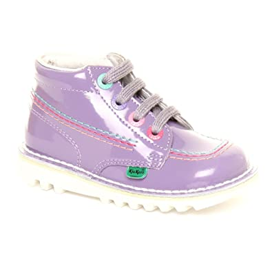 bb7982fa600ad Pre-School Girls Kickers Kick hi Rainbow Red - Blue Ankle Boots Size 5.5:  Amazon.co.uk: Shoes & Bags