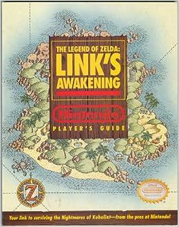 Zelda link awakening walkthrough book