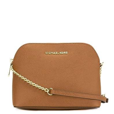ac723fd5cc045f MICHAEL by Michael Kors Cindy Tan Dome Crossbody Bag one size Tan ...