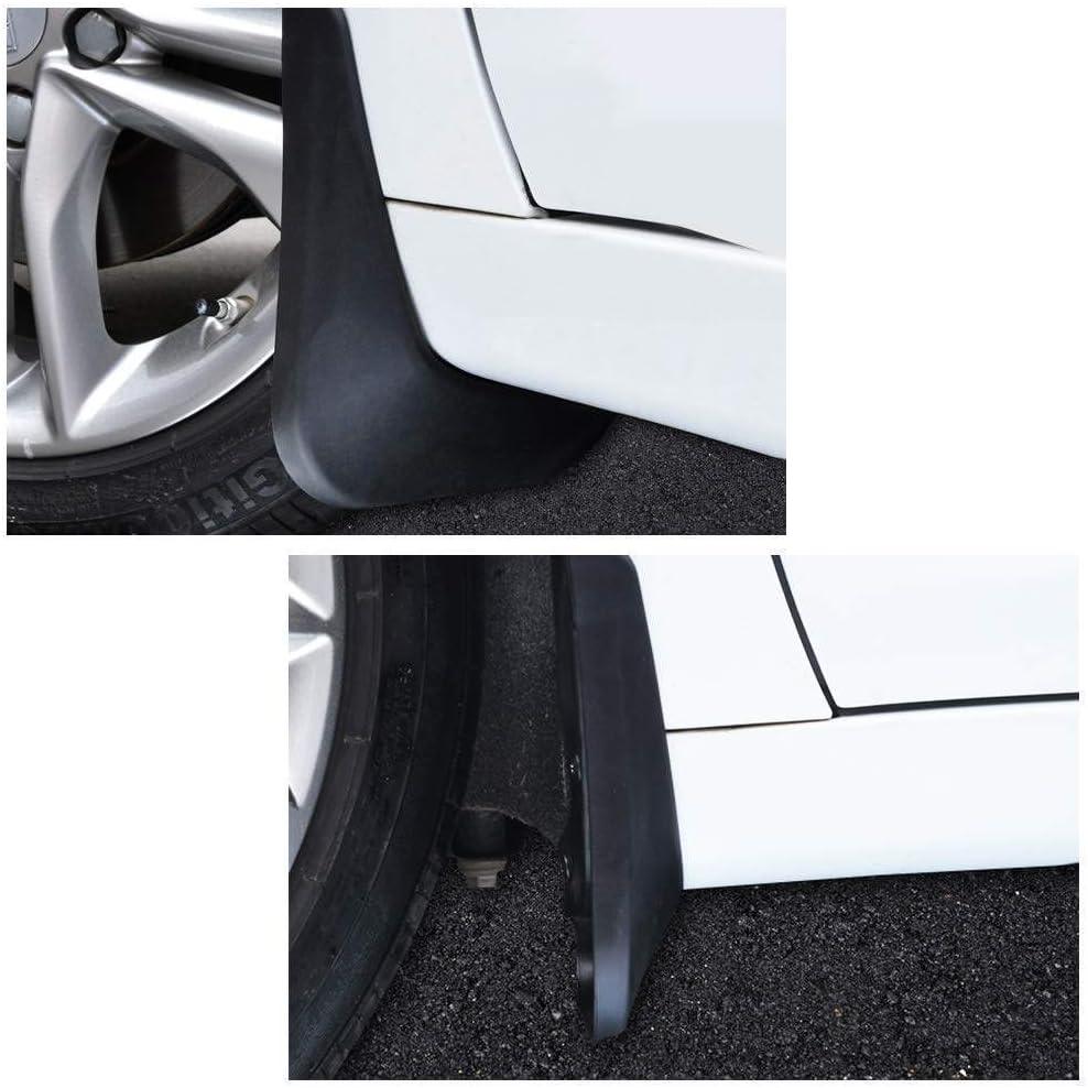 Style de Garde-Boue de Voiture et Accessoires de carrosserie Noir LDXCT 4Pcs Set Garde-Boue Anti-Boue Avant et arri/ère pour Jeep Grand Cherokee 2010-2016