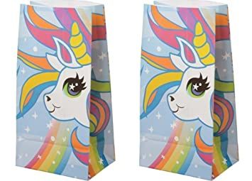 Amazon.com: Unicornio de papel bolsas de dulces bolsas de ...