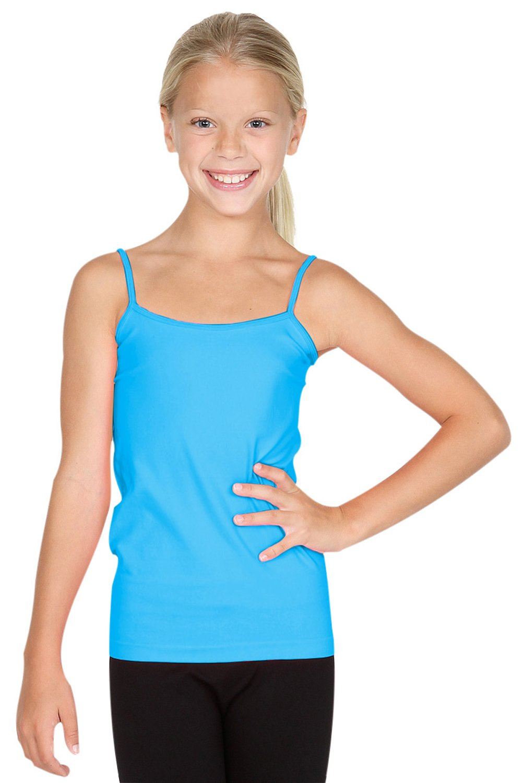 Sugarlips Girls Seamless Camisole-Turquoise