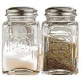 Home Essentials & Beyond 8997 Embossed Salt & Pepper Shaker