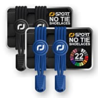 Elastic Shoelaces with Speed Lacing System for Unique Comfort Fit and Strong Hold