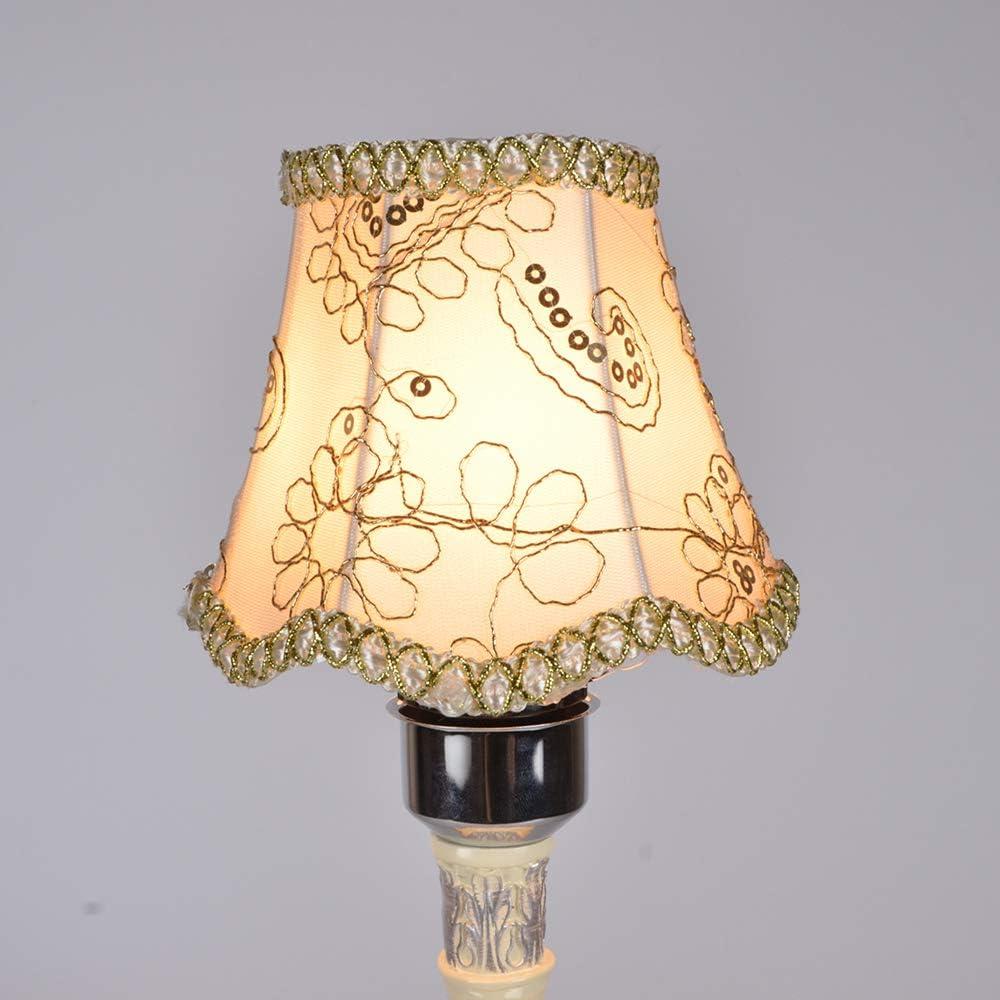 Transparente Kerze Kronleuchter Lampenschirm Wand Lampe Pendelleuchte Schirm 13 x 12 x 8 cm Set von 6 Mini Kronleuchter Lampenschirme Clip auf moderne Kronleuchter Wandleuchte