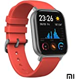XIAOMI Amazfit GTS Smartwatch Fitness and Activities Tracker with Built-in GPS,5ATM Waterproof,Heart Rate, Music, Smart Notifications @ NoorALJ (Vermillion Orange)