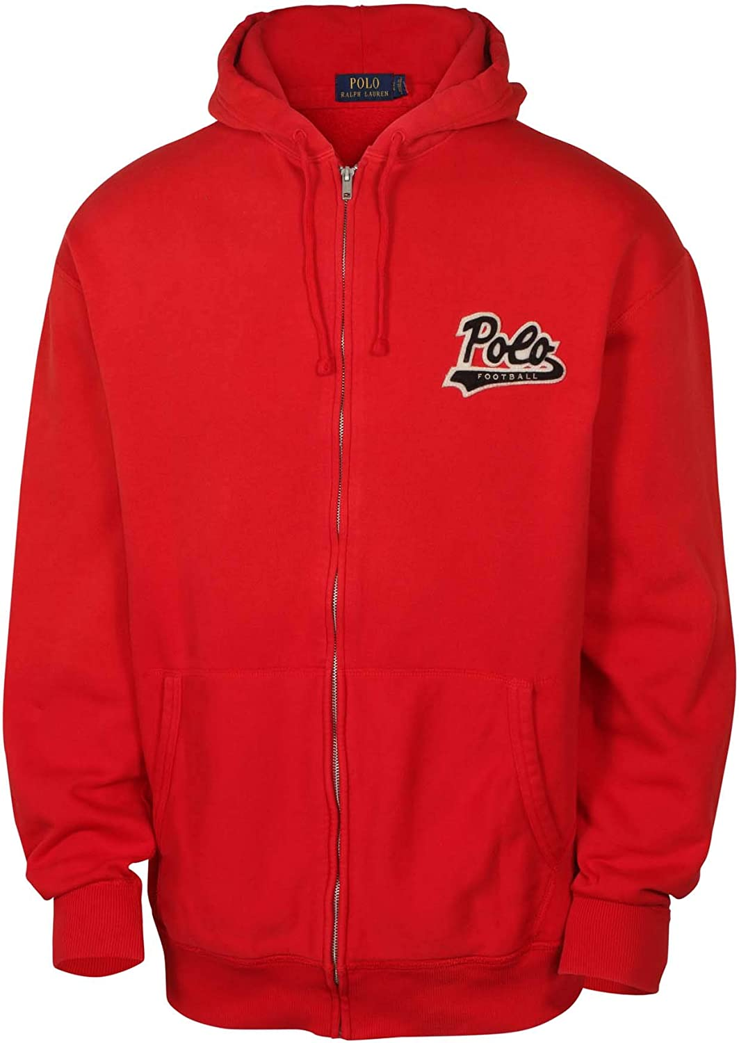 Polo Ralph Lauren Mens Big /& Tall Polo Varsity Football Logo Hoodie Sweatshirt