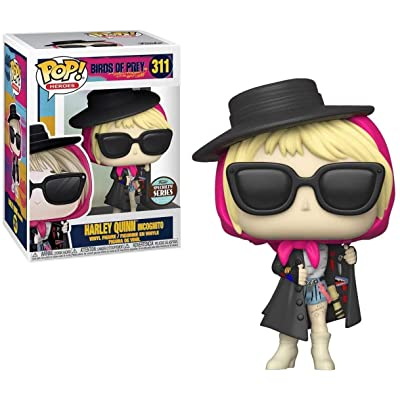 Funko POP! Heroes: Birds of Prey - Harley Quinn Incognito Specialt Standard: Toys & Games