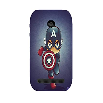 Nokia 603 Captain America 2 Uv Printed Back Cover by: Amazon